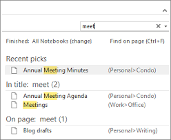 hints on using onenote4